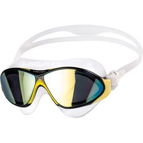 Head Horizon Mirrored Beskyttelsesbriller, gennemsigtig/gul